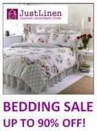Bedding Sale - up to 90% off Duvet Sets, Sheets Etc