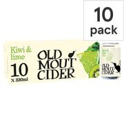 Old Mout Cider Kiwi & Lime 10x330ml