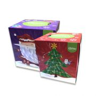 Kleenex Cube Facial Tissues Christmas Edition
