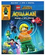 LEGO Aquaman: Rage of Atlantis DVD with Limited Edition Minigure