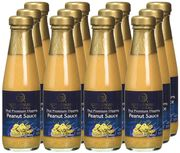 Blue Elephant Royal Cuisine Thai Premium Dipping Peanut Sauce 190ml (Pack of 12)