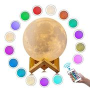 Moon Light, Children Moon Lamp with Remote, 16 Colours - Save £8 with Code