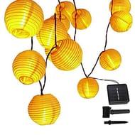 30LED Lanterns Solar String Lights, Greenclick Outdoor Solar Lights Lanterns,