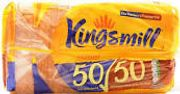 Farmfoods Kingsmill Bread Any 2 of Soft White/ Wholemeal /or 50/50 800gr