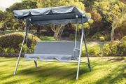 3-Seater Garden Swing Chair - 3 Colours!
