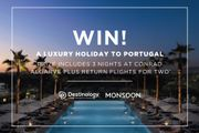 Win a Luxury 3 Night Holiday at the Five-Star Conrad Algarve, Portugal