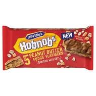 Mcvities Hobnobs 5 Peanut Butter Fudge Flapjacks 145.8G