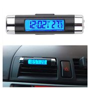 LCD Luminous Display Car Thermometer Multi-Functional Car Clock