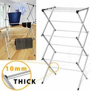 3 Tier Clothes Airer Indoor Outdoor Laundry Washing Foldable