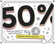 Clearance Sale Summer Bulbs Season Ends Tuesday 50% OFF