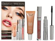 CHRISTIAN BRETON Lip Gloss, BB Cream & Mascara Kit