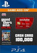 Grand Theft Auto Online (GTA v 5) Red Shark Cash Card PS4