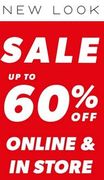 New Look Sale - Live Now Online & Instore