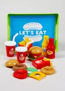 Kids Food Play Set (25cm x 19cm x 6cm) Only £5
