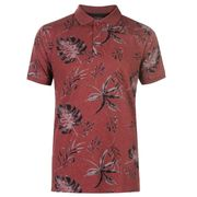 Pierre Cardin Tropical Polo Shirt Mens