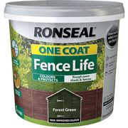 Ronseal One Coat Fence Life 5L Various Colours Buy One Get One Free