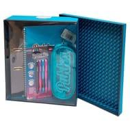 Pukka Notebooks Storage Box Set Blue or Pink