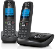 GIGASET Duo Cordless Phone with Answering Machine - Twin Handsets