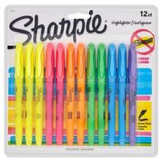 Sharpie 12 Assorted Highlighters Pack HALF PRICE