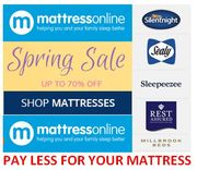 Do you know about Mattress Online? Up to 65% OFF MATTRESSES