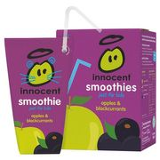 Innocent Kids Apple and Blackcurrant Smoothie 4 X 180 Ml