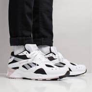 Reebok Aztrek Shoes Black/White/Lilac