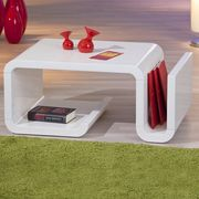 Links Zara Coffee Modern Table Only £45 with Free Delivery at Clearance XL
