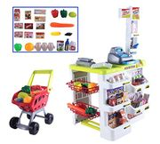 deAO Kids Role Play Supermarket Set Superstore Shop - 40% Off