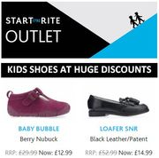 Want Good Quality KIDS SHOES at DISCOUNT PRICES? Start-Rite Outlet