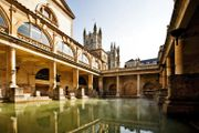 4* Bath Escape, Breakfast & 3-Course Dining at Ask Italian