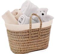 Clair De Lune My Toys Polly Nursery Basket - Cream
