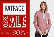 FATFACE SALE is on - up to 60% OFF
