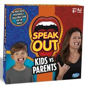 Hasbro Gaming Speak Out Kids vs Parents Game - SAVE £15.40