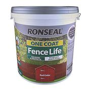 2 for £12 on Ronseal One Coat Fence Life 9ltr