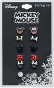 Mickey and Minnie Earring Set