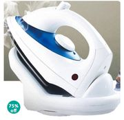 1800W Cordless Steam Iron with Non-Stick Soleplate