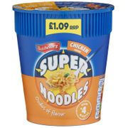 Under Half Price Batchelors Super Noodles - 75g Chicken - 54% Off