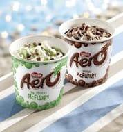 Aero Chocolate/Peppermint Mcflurry