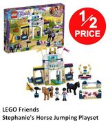 1/2 PRICE LEGO FRIENDS Stephanie's Horse Jumping Playset (41367)