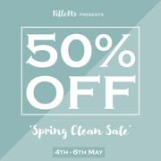 50% off Spring Clean Sale (Prices from £5) (One Size Clothing)
