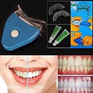 Oral Gel Teeth Whitening LED Light Accelerator Bleaching T Whitening Kits