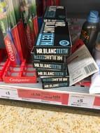 Mr Blanc Teeth Whitening Strips - Half Price