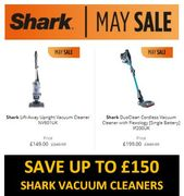 SHARK Vacuum Cleaners CHEAP! MAY SALE!