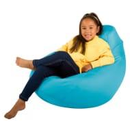 Kids High Back Gamer Bean Bag Chair Various Colours