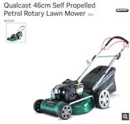 Qualcast 46cm Self Propelled Petrol Rotary Lawn Mower