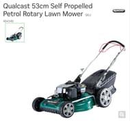 Qualcast 53cm Self Propelled Petrol Rotary Lawn Mower