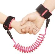 Wrist Link Belt, 360Rotate Elastic Wire Rope for Baby & Toddler Reins Only £4