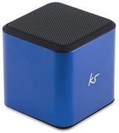 KitSound Cube Universal Bluetooth Wireless Portable Speaker, - Blue