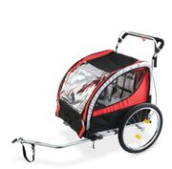 2 in 1 Kids Bike Trailer/Stroller