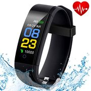 Fitness Tracker Waterproof with Heart Rate Monitor - 60% Off with Code